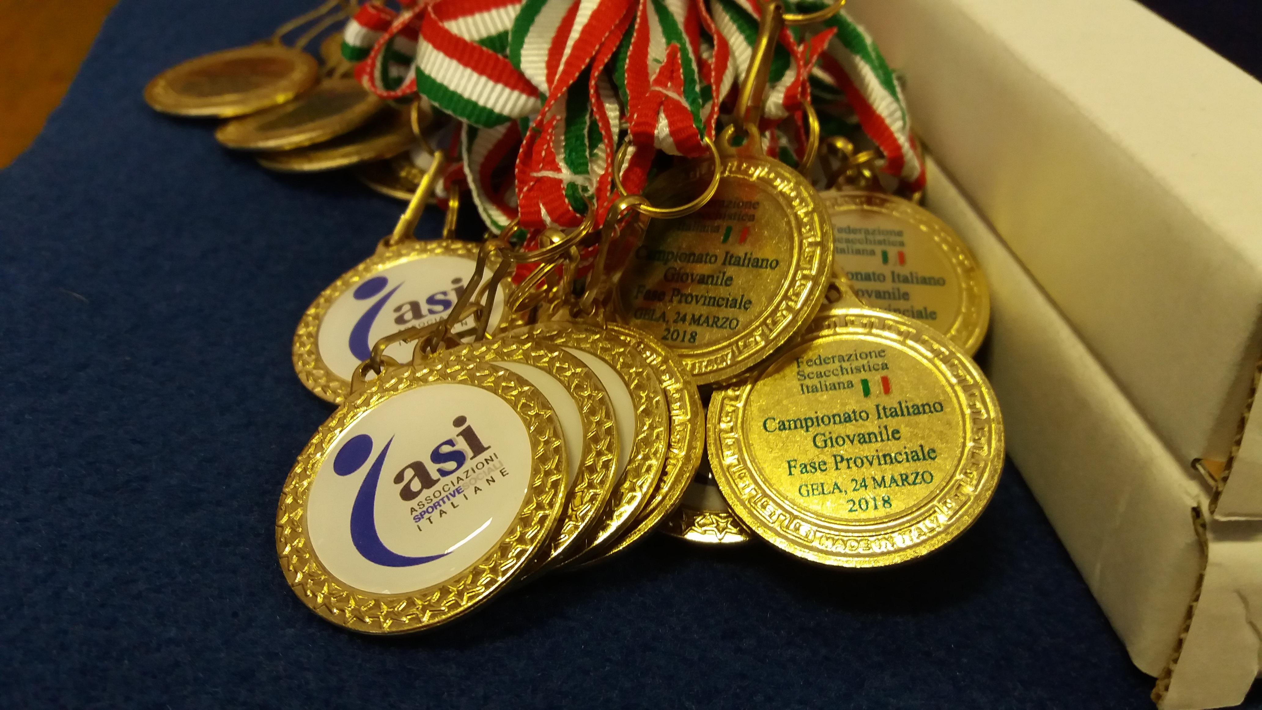 Campionato Provinciale ASI U16 di scacchi