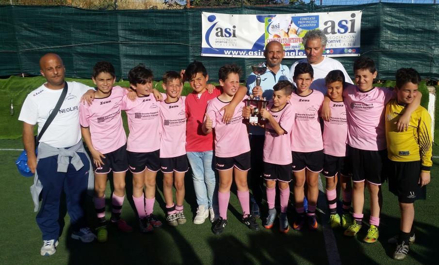 Castelvetrano Selinunte campione intrerprovinciale asi calcio