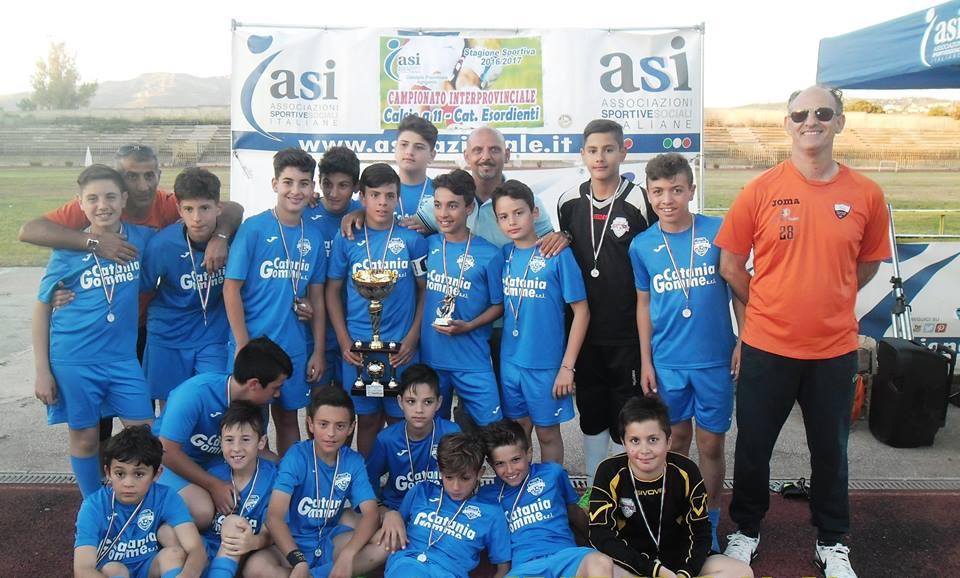 Belice Sport Partanna campione interprovinciale ASI